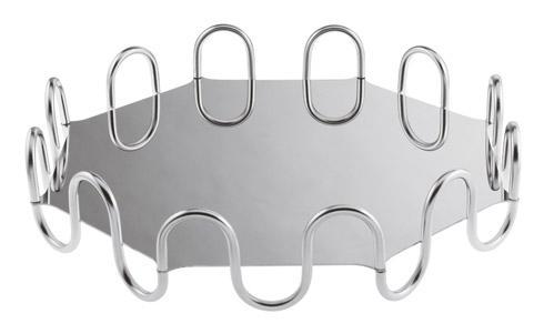 $830.00 Octagon, Kyma Silverplated S/Steel