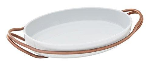 NEW LIVING Hi-Tech Copper+ White Dish collection with 4 products