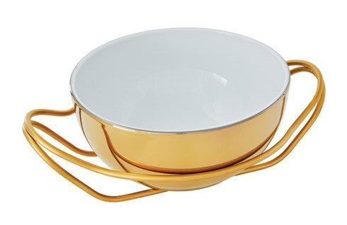 Living Serveware NEW LIVING Hi-Tech Gold + PVD Gold Dish collection