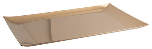 $250.00 Tray w/o Hndl 16 1/2 x 11 in PVD Gold