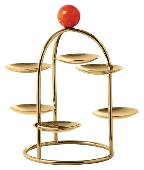 $175.00 Pastry Stand (6 Small Dishes) – 7 1/2 in