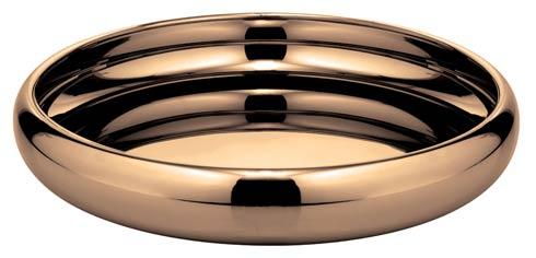$415.00 Bowl/ Tray w/o Hndl D 15 3/4 in PVD Cognac