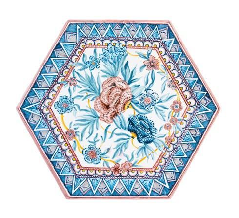 $650.00 Hexagonal Ceramic, Kyma Ceramic