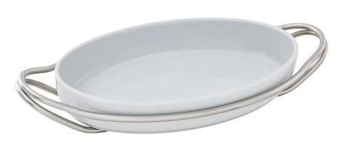 $225.00 Oval porcelain dish set