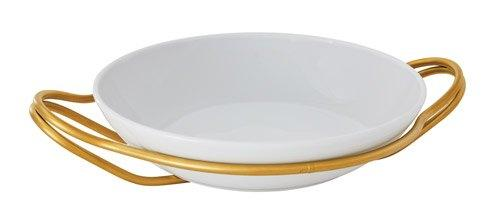 Living Serveware NEW LIVING Hi-Tech Gold + White Dish collection