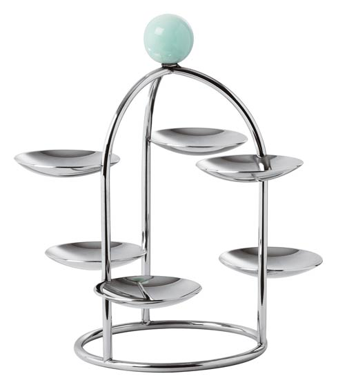 Sambonet Penelope S/Steel Pastry Stand (6 Small Dishes) – 7 1/2 in $150.00