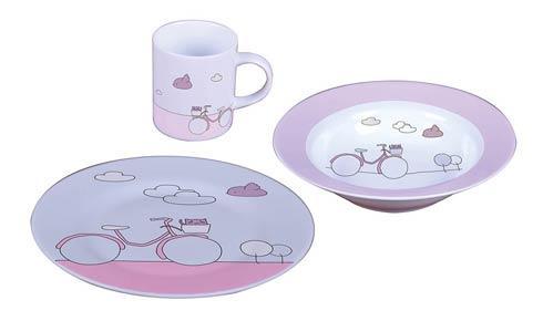 $65.00 \'Pink Bike\' Kids Table Set, 3 Pcs