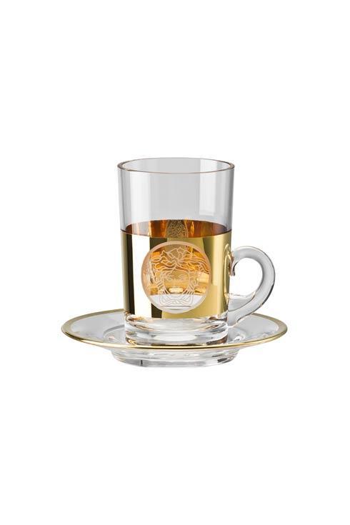 $200.00 Tea Glass 2 Pcs Tall