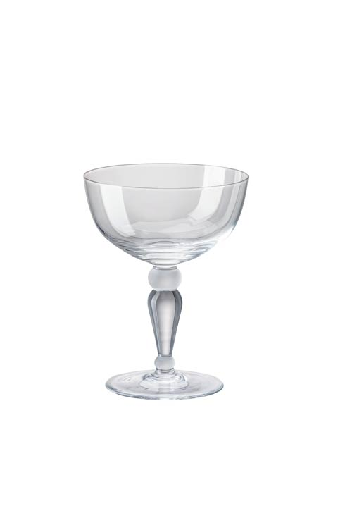 $60.00 Clear Champagne Saucer - 7 oz, 5 in