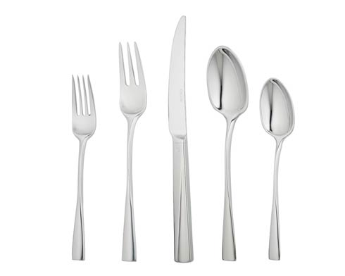 Ercuis  Stainless Steel Flatware - Chorus 5 pc Placesetting $140.00