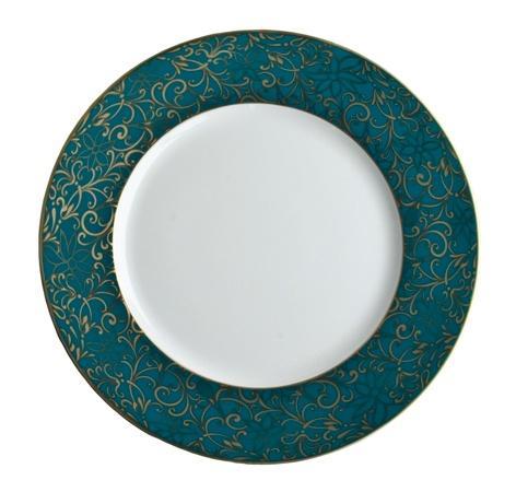 $200.00 & Turquoise Salad Plate