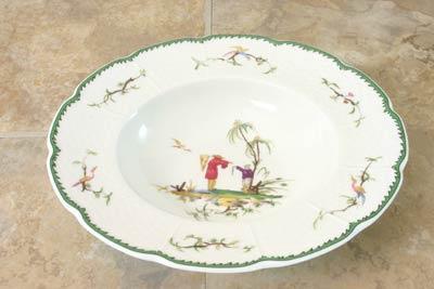 Raynaud  Si Kiang #1 Rim Soup Plate $154.00