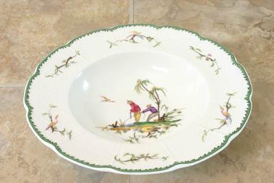Raynaud  Si Kiang #2 Rim Soup Plate $154.00
