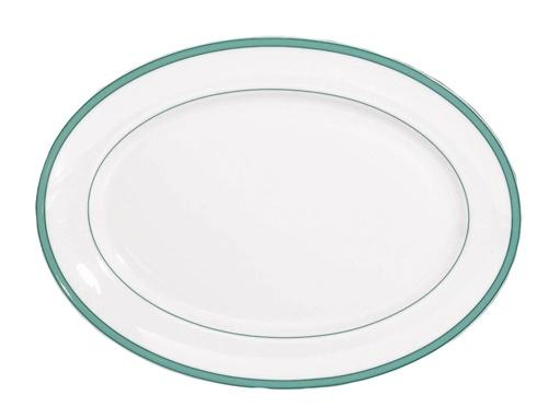 Raynaud  Tropic - Turquoise Oval Platter $345.00