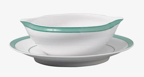 Raynaud  Tropic - Turquoise Sauce Boat $287.00