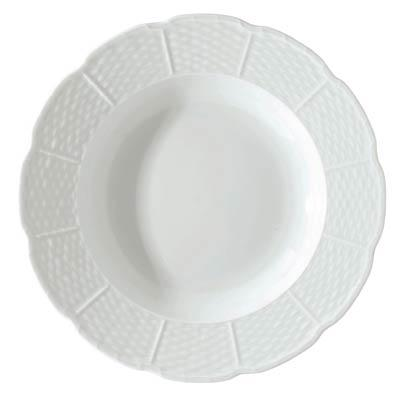 Raynaud  Osier French Rim Soup Plate $56.00