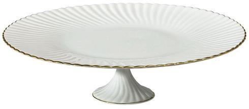 Raynaud  Atlantide Gold Petit Four Stand Large in Gift Box $210.00