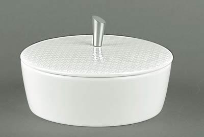 $170.00 Covered Sugar Bowl with Metal Knob