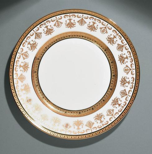 $950.00 White  Dinner Plate