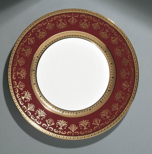 $1,120.00 Red  Dinner Plate