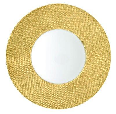 $335.00 Gold Gloss Buffet Plate
