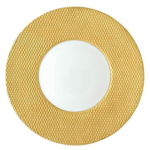 Caviar Matte Gold Buffet Plate