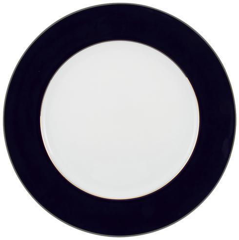 $250.00 Cobalt Blue With Platinum Buffet Plate