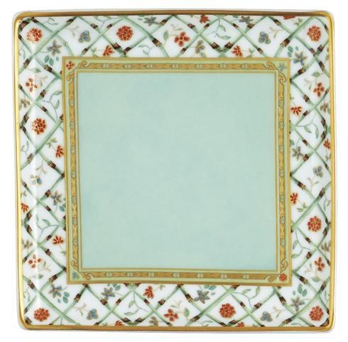 "$150.00 Almond Green Small Tray 4.3"" x 4.3"""