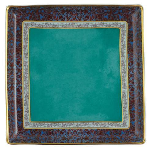 "$150.00 Turquoise Small Tray 4.3"" x 4.3"""