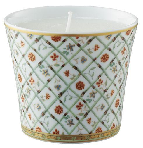 Almond Green Candle Pot