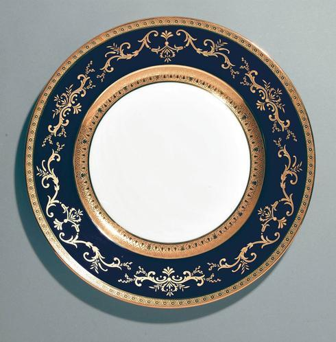$650.00 Blue  Bread and Butter Plate