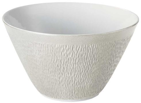 Raynaud Mineral Irise - Pearl Grey Cone Shaped Salad Bowl $668.00