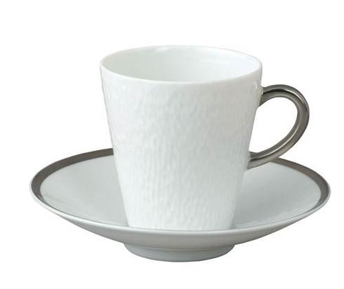 Mineral Sable Platinum After Dinner Saucer