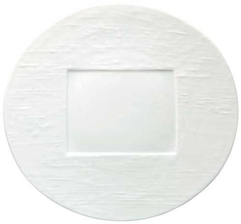 $95.00 White Oval Buffet Plate