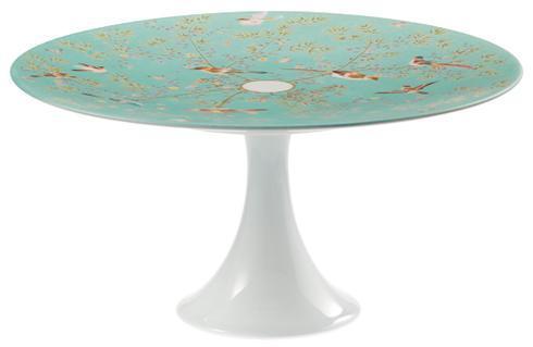 Raynaud  Paradis Turquoise Medium #1 Petit Four Stand $175.00