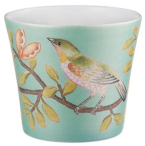 Raynaud  Paradis Turquoise Candle Pot $105.00