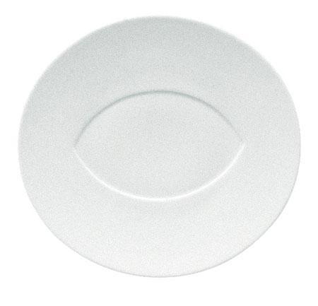 $60.00 Dinner Plate- Almond Center