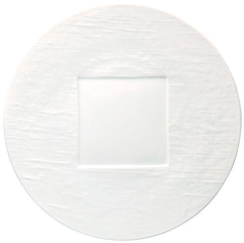 $95.00 White Round Buffet Plate