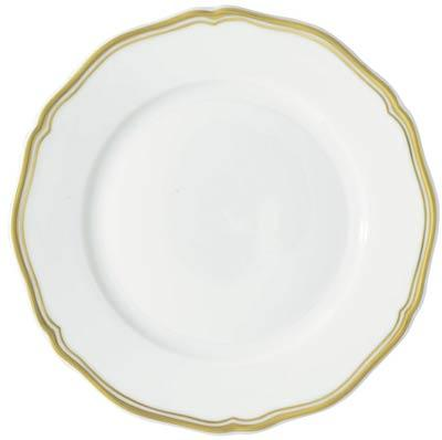 Raynaud  Polka Gold Salad Plate $105.00