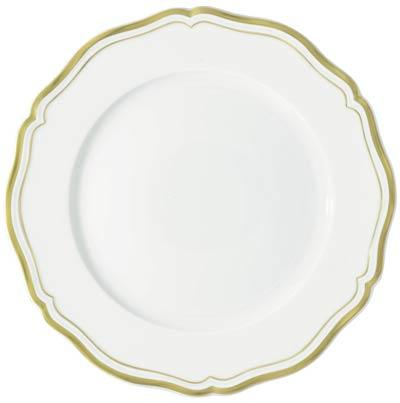 Raynaud  Polka Gold Buffet Plate $205.00
