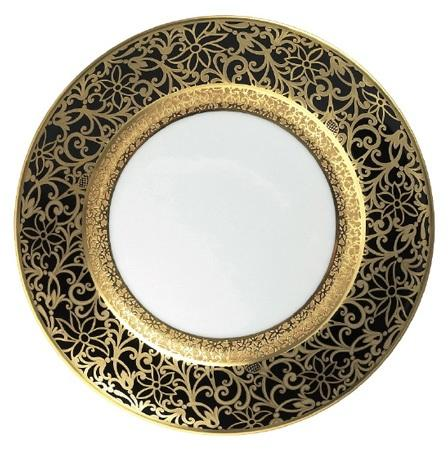 $730.00 With Gold Incrustation Salad Plate