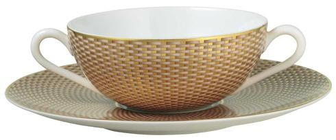 $225.00 Beige Cream Soup Cup