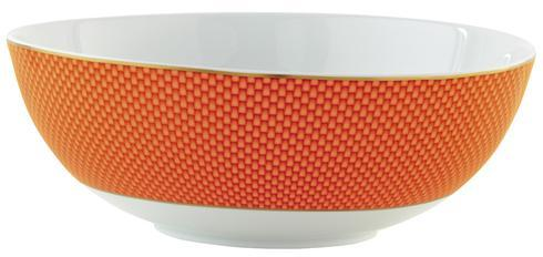 Orange Large Salad Bowl