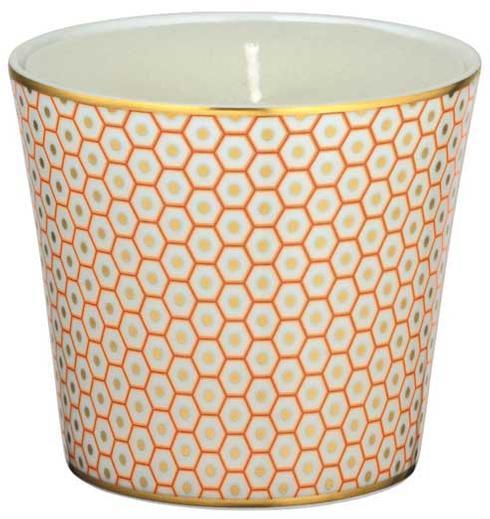 Orange Candle Pot