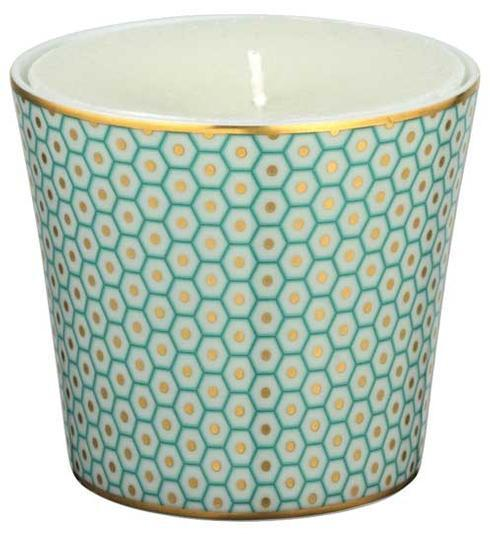 $170.00 Turquoise Candle Pot