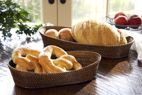 Oval Bread Basket w/ Edging, Small collection with 1 products