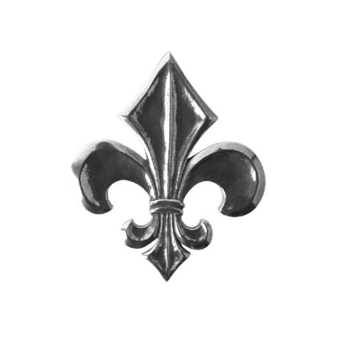 Salisbury  Napkin Weights and Boxes Fleur-de-Lis Napkin Weight $18.50