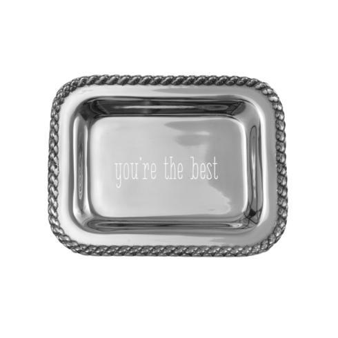 $40.00 Masthead Extra Small Tray with You're The Best