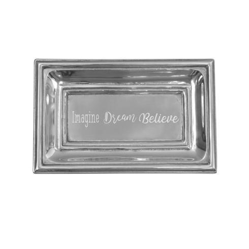$40.00 Classic Extra Small Tray with Imagine, Dream, Believe