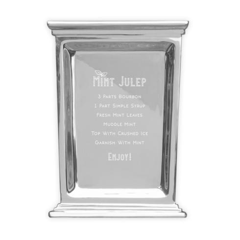 $90.00 Large Triple Crown Tray with Mint Julep Recipe